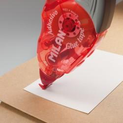 Milan - 44GT12 cinta adhesiva 12 m Azul Rojo 12 piezas