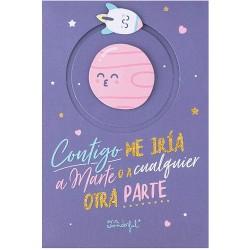 Mr Wonderful - WOA09788ES tarjeta de felicitacin y psame Tarjeta de felicitacin estndar 1 piezas