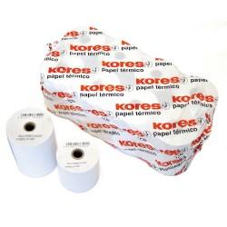 Kores - ROLLO TERMICO 57X60X12 DE 43 METROS SIN BISFENOL A KORES 56654600