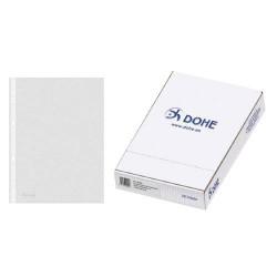 DOHE - CAJA 100 FUNDAS MULTITALADRO BASIC A4 235X305 DOHE 90491