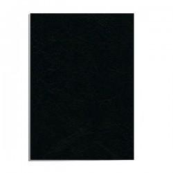Fellowes - 5130002 cubierta A3 Cartn Imitacin piel Negro 50 piezas