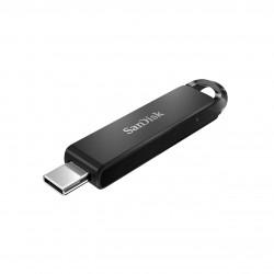 SanDisk - Ultra unidad flash USB 64 GB USB Tipo C 32 Gen 1 31 Gen 1 Negro