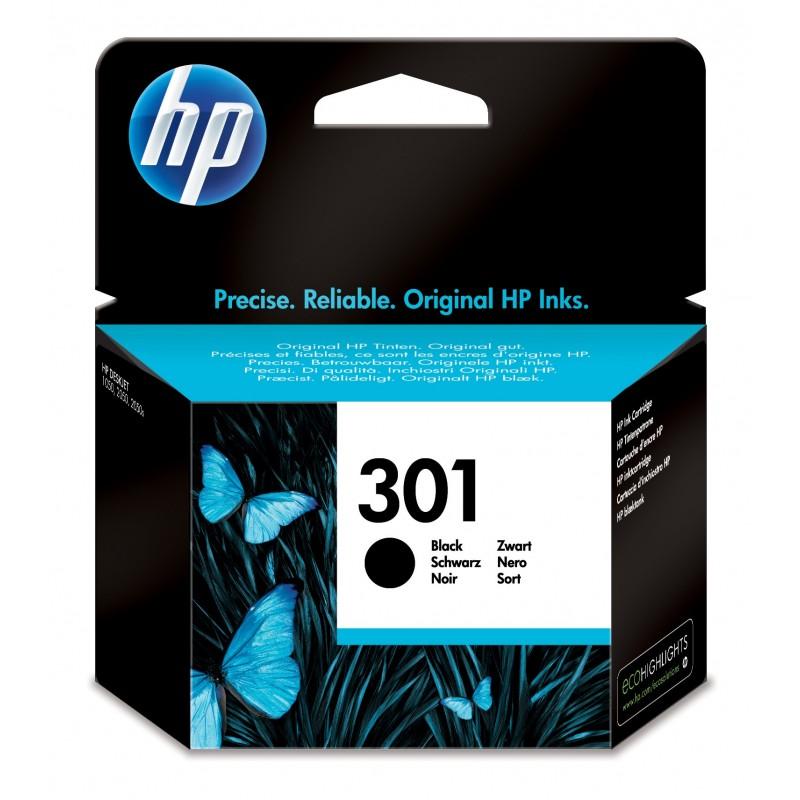 HP - 301 1 piezas Original Rendimiento estndar Foto negro