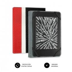 SUBBLIM - Funda Libro Electrnico Clever Ebook Case 6 Red