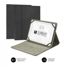 SUBBLIM - Funda Tablet Clever Stand Tablet Case 101 Black