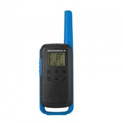 Motorola - TALKABOUT T62 two-way radios 16 canales 12500 MHz Negro Azul