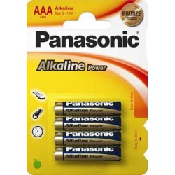 Panasonic - LR03APB Batera de un solo uso AAA Alcalino