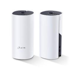 TP-LINK - Deco P9 2-pack Blanco Interno Doble banda 24 GHz / 5 GHz Wi-Fi 5 80211ac