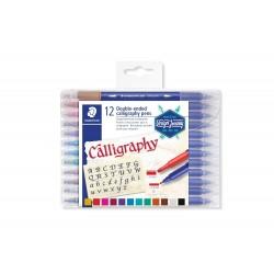 Staedtler - 3005 pluma fuente Multicolor 12 piezas