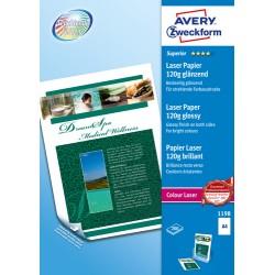 Avery - Avery Zweckform Premium Colour Laser Photo Paper 120 g/m A4 210x297 mm Impresin lser Brillo Blanco 120 g/m F