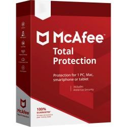 McAfee - Total Protection Licencia bsica 5 licencias 1 aos