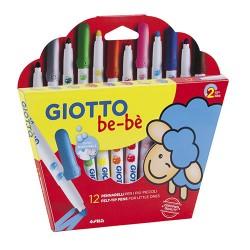 Giotto - ESTUCHE 12 ROTULADORES BE-BE GIOTTO F469900