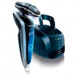 Philips - SHAVER Series 9000 SensoTouch RQ1290/21 afeitadora Mquina de afeitar de rotacin Recortadora Negro