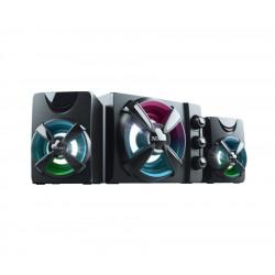 Trust - Ziva RGB 21 Gaming conjunto de altavoces 21 canales 11 W Negro