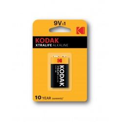 Kodak - Xtralife Batera de un solo uso 9V Alcalino