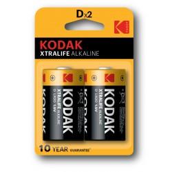 Kodak - KDXLR20PB2 Batera de un solo uso D Alcalino