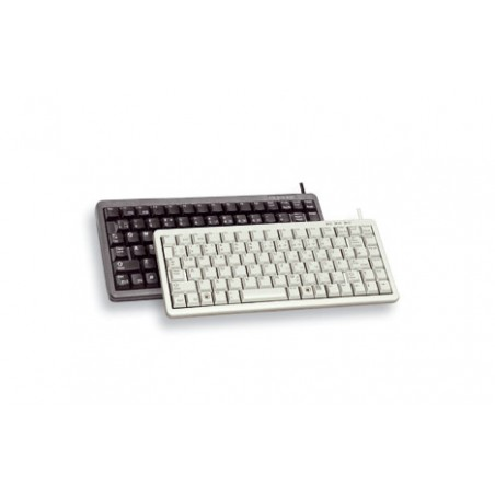 CHERRY - Compact keyboard Combo USB  PS/2 ES teclado USB  PS/2 QWERTY Negro