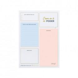 Mr Wonderful - WOA10653ES planificador A4