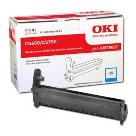 OKI - Cyan image drum for C5650 / C5750 tambor de impresora Original