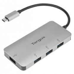 Targus - ACH226EU hub de interfaz USB 32 Gen 1 31 Gen 1 Type-C 5000 Mbit/s Plata