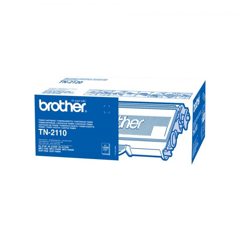 Brother - TN-2110 cartucho de tner 1 piezas Original Negro