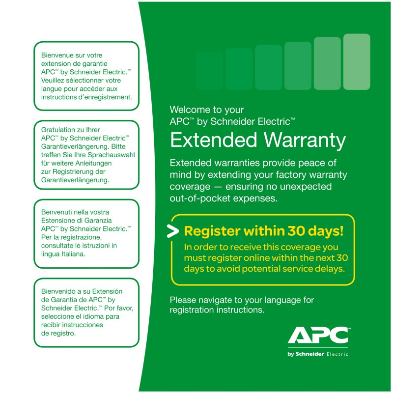 APC - Service Pack 3 Year Extended Warranty - WBEXTWAR3YR-SP-04