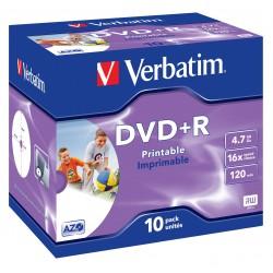 Verbatim - 43508 DVD en blanco 47 GB DVDR 10 piezas