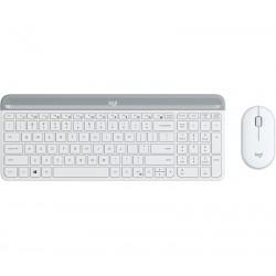 Logitech - MK470 Slim Wireless Combo teclado RF inalmbrico Espaol Blanco