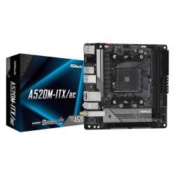 Asrock - A520M-ITX/ac Zcalo AM4 micro ATX