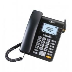 MaxCom - MM28D telfono Telfono DECT Negro