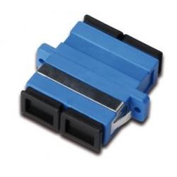 Digitus - DN-96003-1 adaptador de fibra ptica SC/SC Negro Azul 20 piezas