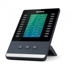 Yealink - EXP50 IP mdulo adicional add-on Negro Gris 23 botones