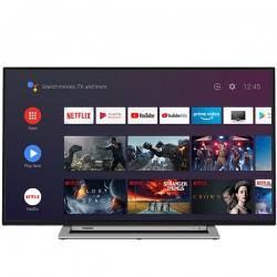 Toshiba - 55UA3A63DG Televisor 1397 cm 55 4K Ultra HD Smart TV Wifi Negro Gris