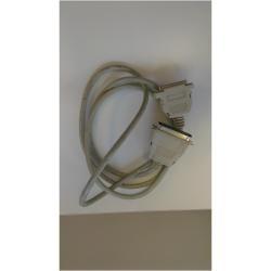 Zebra - 105850-001 cable paralelo 18 m Gris
