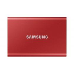 Samsung - Portable SSD T7 1000 GB Rojo