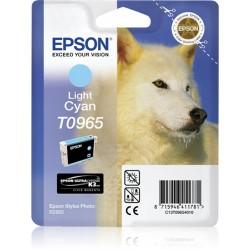 Epson - Husky Cartucho T0965 cian claro
