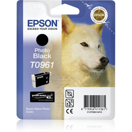 Epson - Husky Cartucho T0961 negro foto