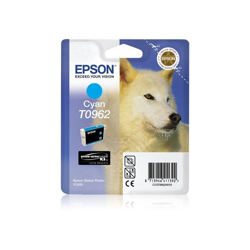 Epson - Husky Cartucho T0962 cian