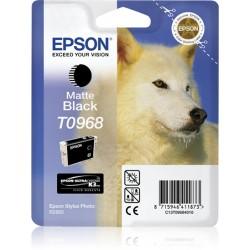 Epson - Husky Cartucho T0968 negro mate