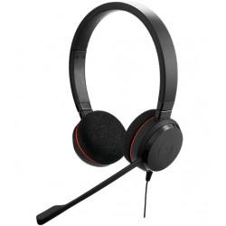 Jabra - Evolve 20 UC Duo USB-C Auriculares Diadema Negro