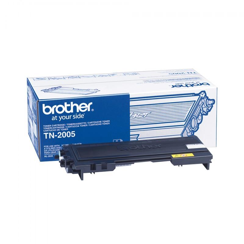 Brother - TN-2005 Toner Cartridge Original Negro