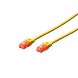 Digitus - CAT6 U/UTP 05m cable de red 05 m U/UTP UTP Amarillo