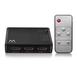 Ewent - EW3730 interruptor de video HDMI