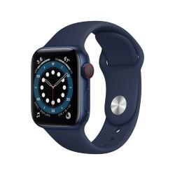 Apple - Watch Series 6 OLED 40 mm Azul 4G GPS satlite