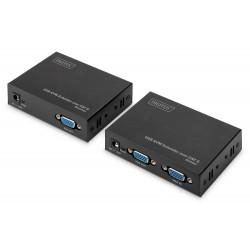 Digitus - DS-51201 extensor KVM Transmisor y receptor