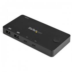 StarTechcom - SV211HDUC interruptor KVM Negro