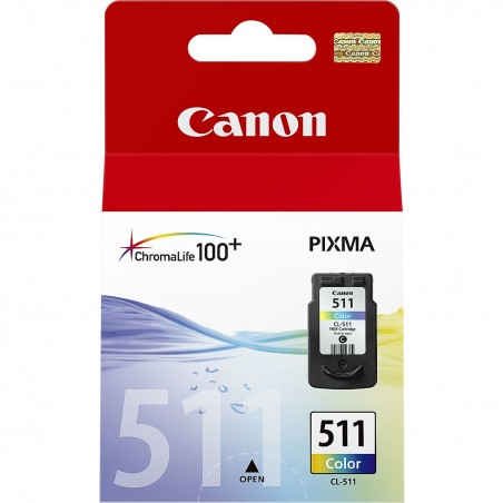 Canon - CL-511 Colour Original Cian Magenta Amarillo 1 piezas - 2972B001