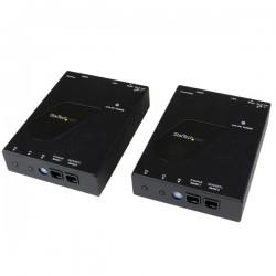 StarTechcom - Juego Kit Extensor de Vdeo y Audio HDMI IP por Red Gigabit Ethernet cable UTP cat6 RJ45 Conversor