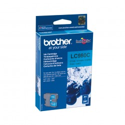 Brother - LC-980C cartucho de tinta Original Cian 1 piezas