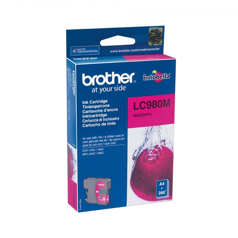 Brother - LC-980M cartucho de tinta Original magenta 1 piezas